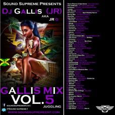 DJ Gallis (JR) – Gallis Mix Vol. 5 (Juggling)