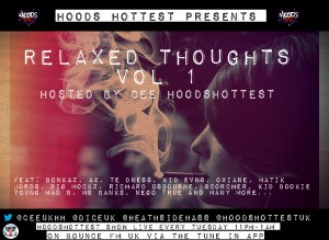 Relaxed Thoughts vol 1 artwork